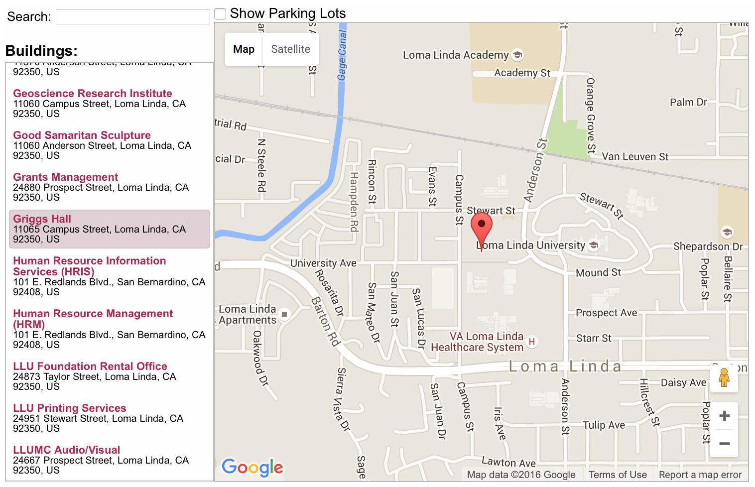 Map Of Loma Linda California - Klipy - Loma Linda California Map
