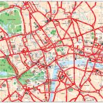 Map Of London Tourist Attractions, Sightseeing & Tourist Tour   Free Printable Tourist Map London