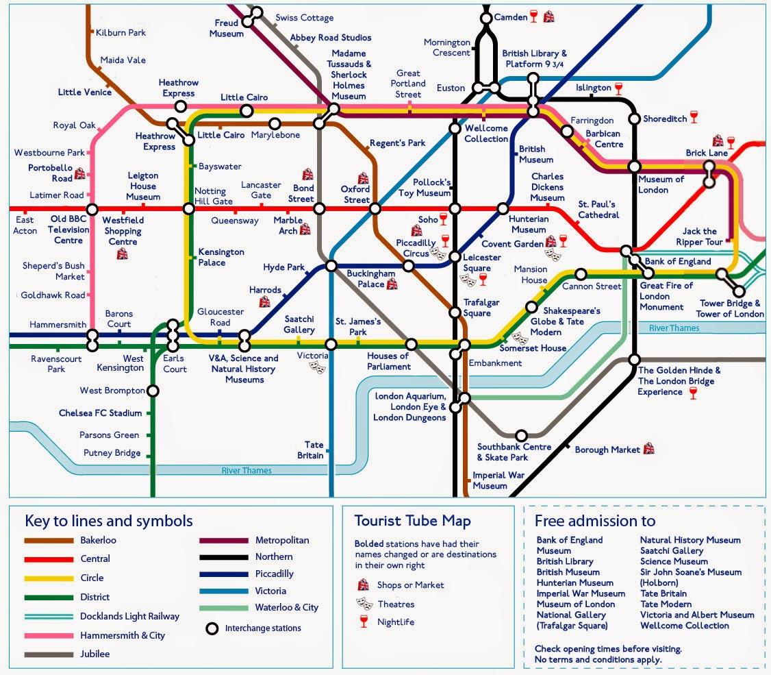 Map Of London Tube - Free Printable Maps - London Tube Map Printable