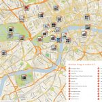 Map Of London With Tourist Attractions Download Printable Street Map   Printable Street Maps