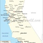 Map Of Major Cities Of California | Maps In 2019 | California City   Map Of California Cities And Towns