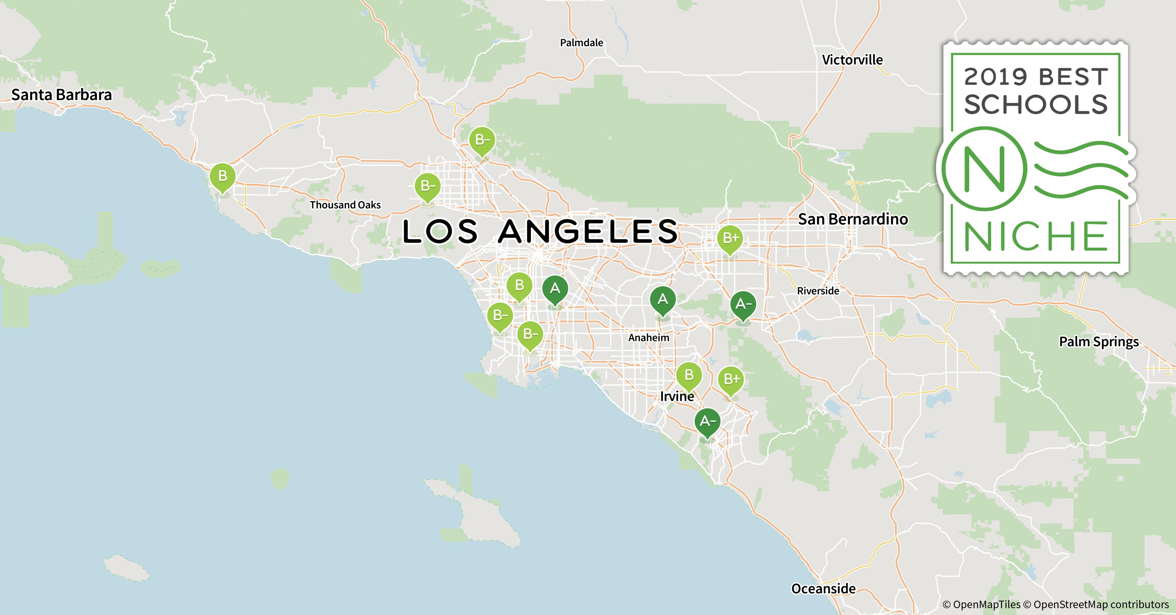 Map Of Malibu California Area Free Printable 2019 Best Private High - Map Of Malibu California Area