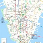 Map Of Manhattan Nyc And Travel Information | Download Free Map Of   Printable Map Of Downtown New York City