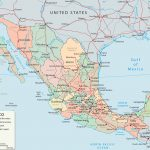 Map Of Mexico   Baja California, Cancun, Cabo San Lucas   Map Of Baja California Mexico