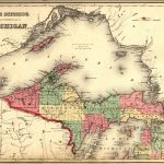 Map Of Michigan Upper Peninsula And Travel Information | Download – Printable Upper Peninsula Map