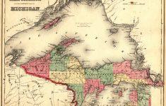 Map Of Michigan Upper Peninsula And Travel Information | Download – Printable Upper Peninsula Map