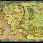 Map Of Middle Earth From Lord The Rings For Large Noavg Me At   Printable Map Of Middle Earth