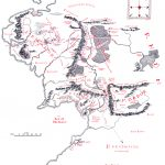 Map Of Middle Earth   J.r.r. Tolkien   Printable Map Of Middle Earth