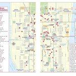 Map Of Midtown Manhattan Printable   Printable Walking Map Of   Map Of Midtown Manhattan Printable