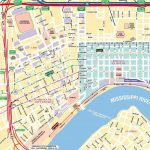 Map Of New Orleans | New Orleans Tourist Map See Map Details From   Printable Walking Map Of New Orleans