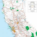 Map Of Northern California   Map Of California Usa