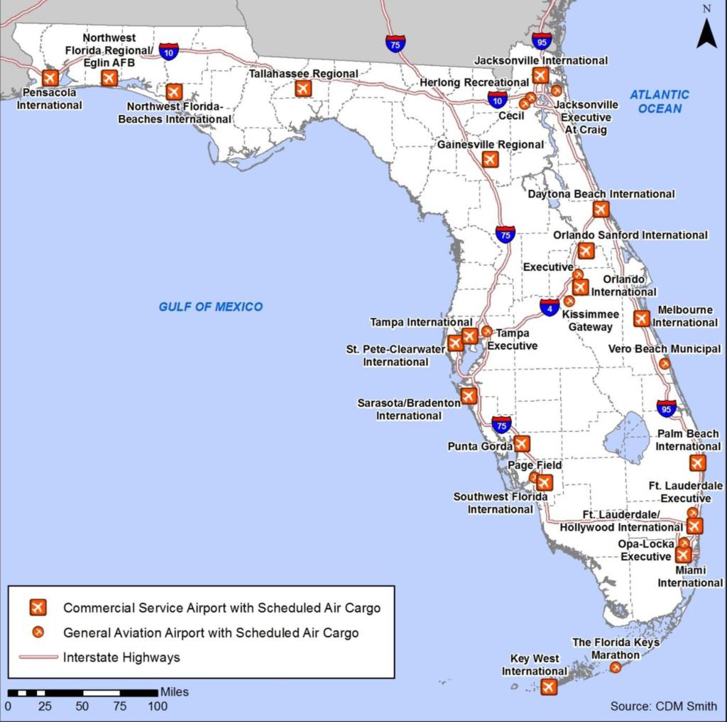 Map Of Northwest Florida - Northwest Florida Beaches Map
