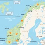 Map Of Norway | Norway Regions | Rough Guides | Rough Guides   Printable Map Of Oslo Norway