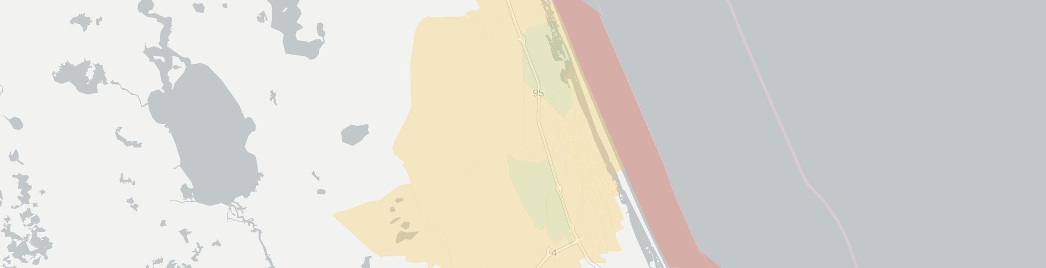 Map Of Ormond Beach Florida - Street Map Of Ormond Beach Florida
