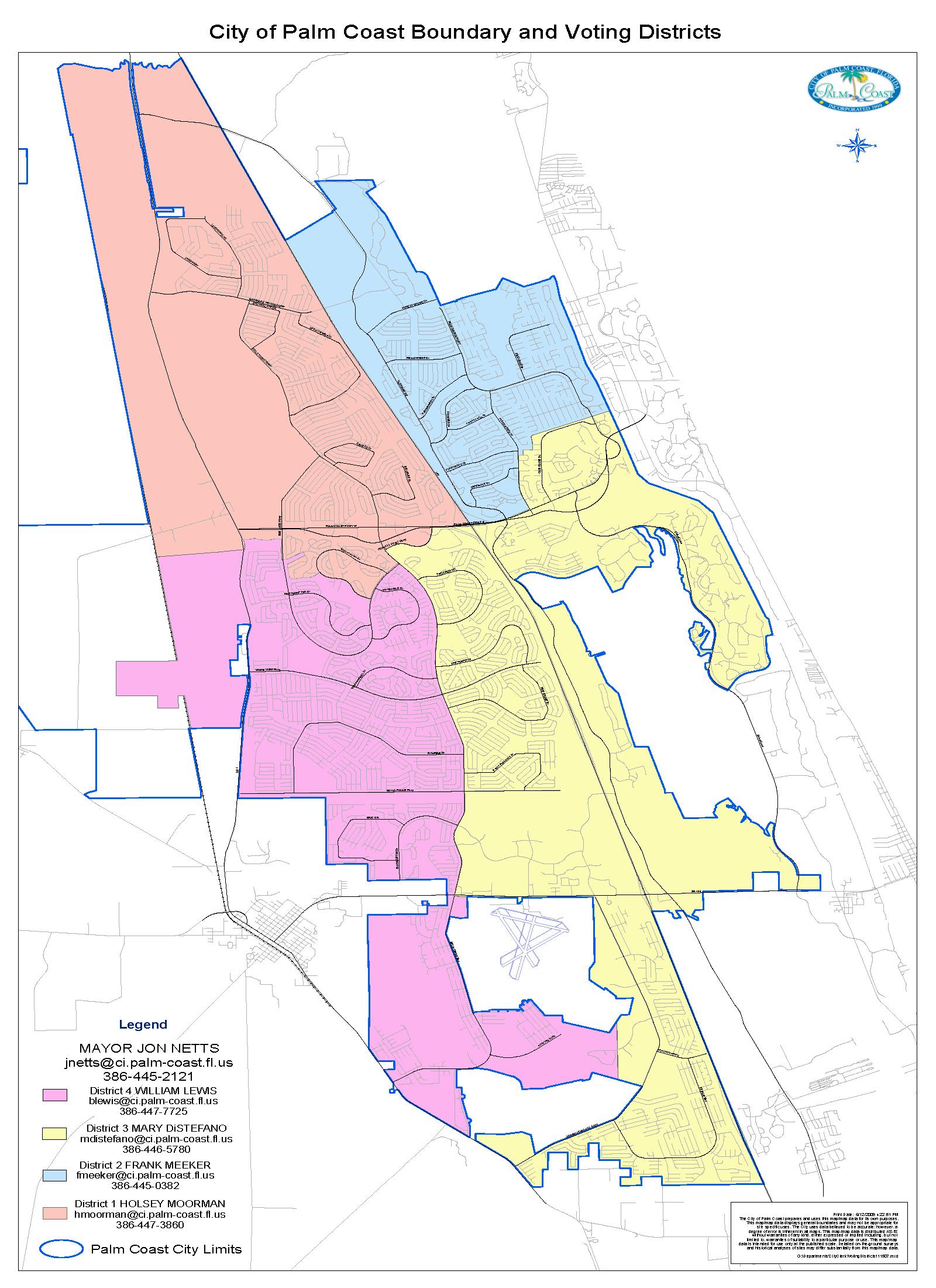 Map Of Palm Coast Florida - Palm City Florida Map