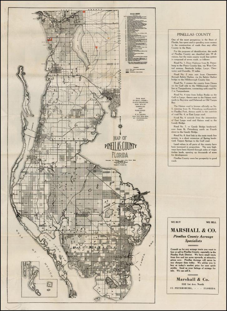 Antique Florida Maps For Sale