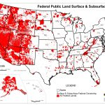 Map Of Public Lands In The Us Gov Land Map New Map All U S Federal   Blm Land Florida Map