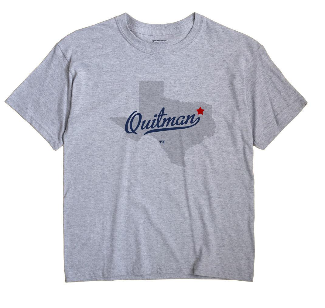 Map Of Quitman, Tx, Texas - Quitman Texas Map