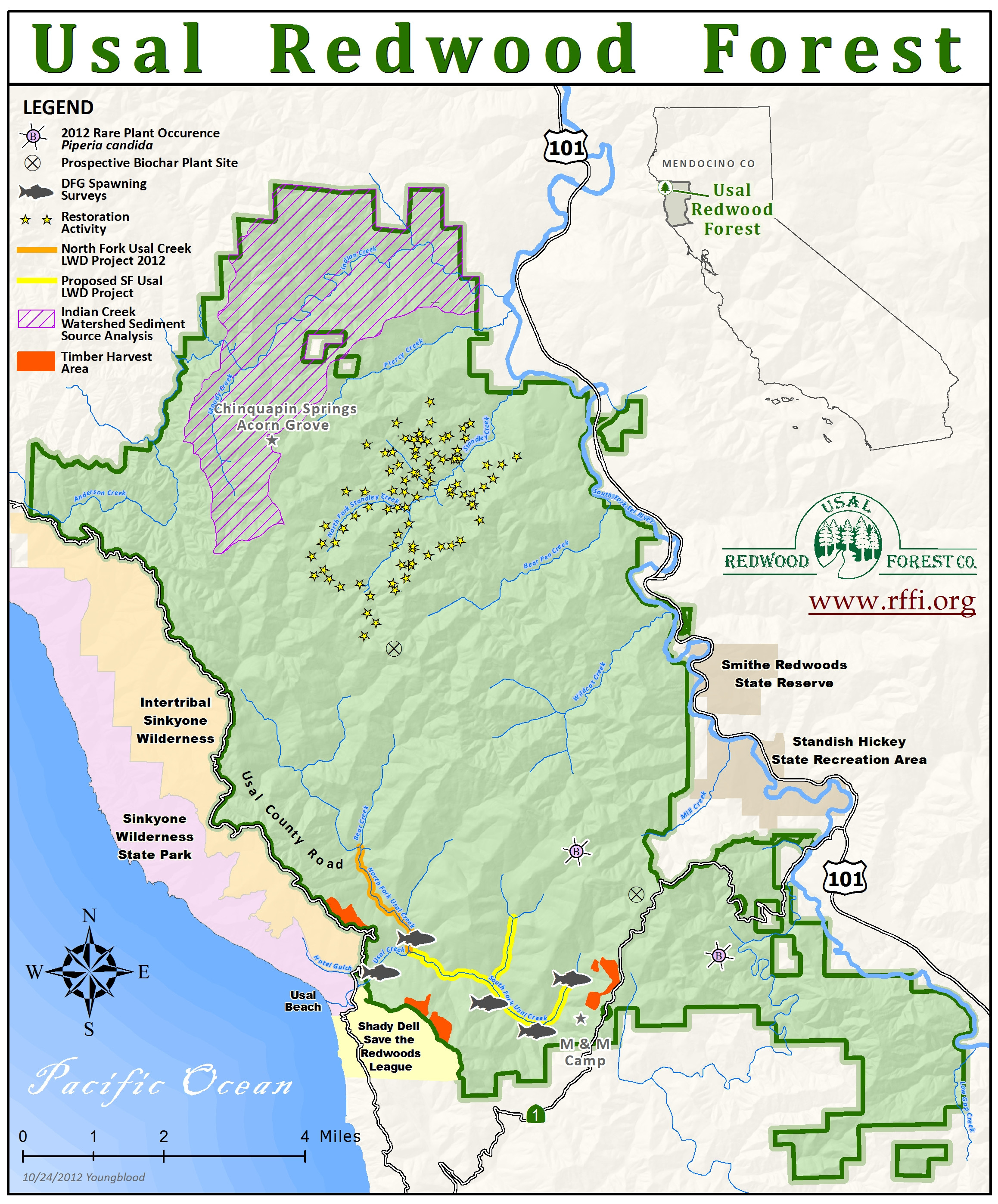 Map Of Redwood Forests In California Printable Redwood Location On - Where Is The Redwood Forest In California On A Map