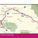 Map Of Route 66 Through California.   Road Trips   Pinterest   Road   Historic Route 66 California Map