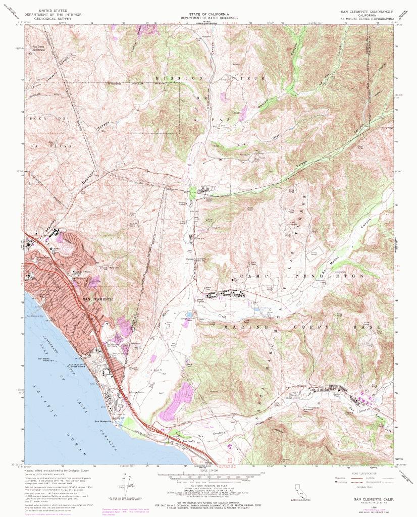 Map Of San Clemente California - Klipy - San Clemente California Map