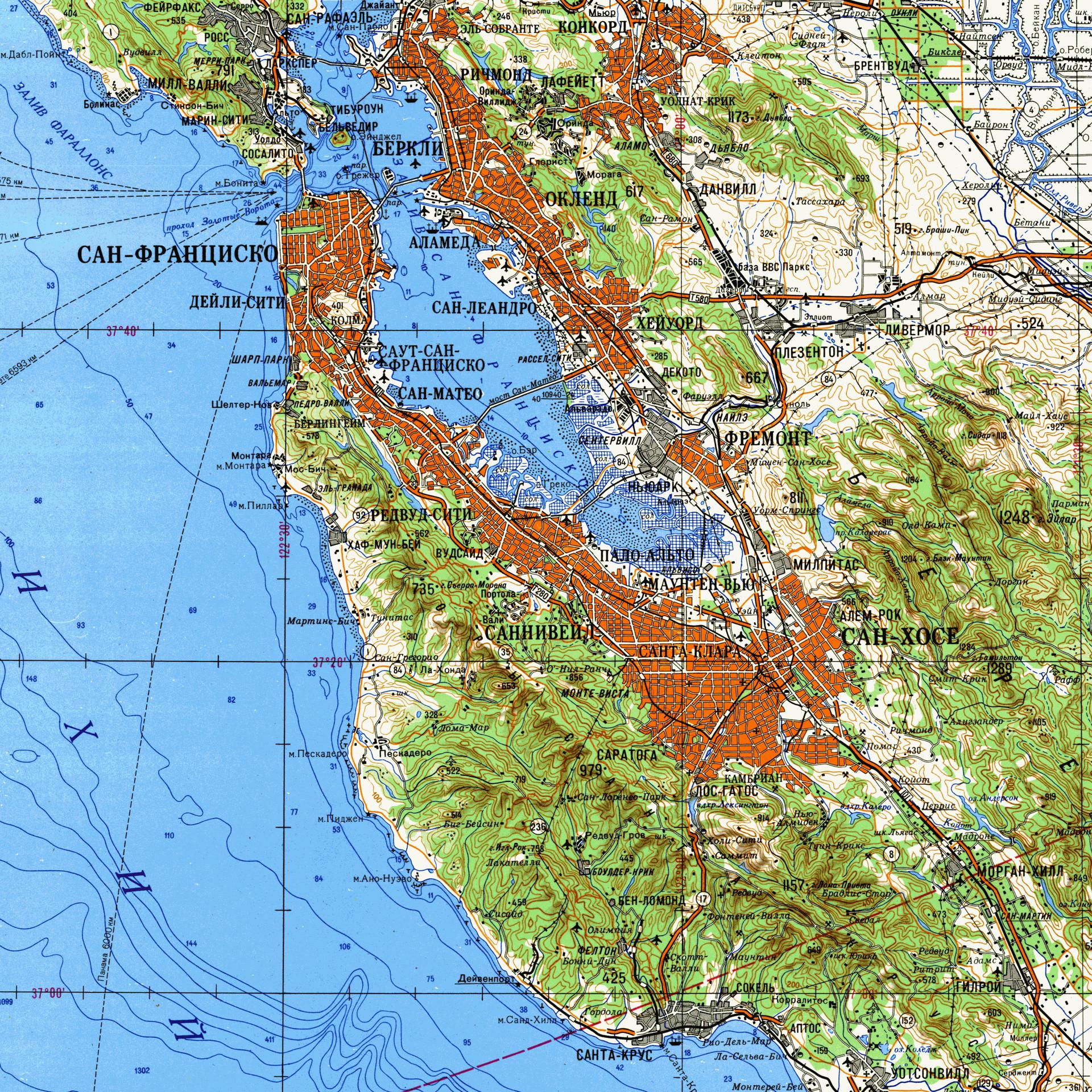 Map Of San Francisco Bay Area California Printable Maps San - Printable Map Of San Francisco Bay Area