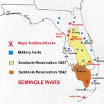 Map Of Seminole Wars In Florida | Family Tree | Pinterest | Seminole   Native American Tribes In Florida Map
