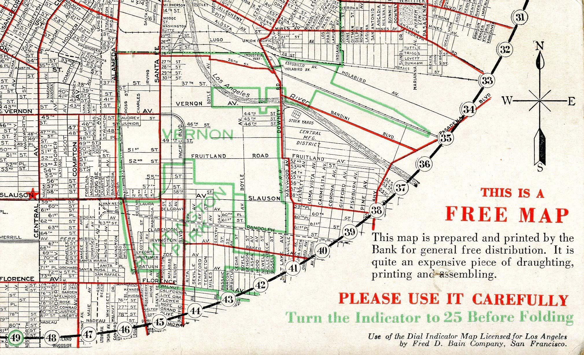 Map Of Silver Lake California Free Printable Vernon E Z Guide Map Of - Silver Lake California Map