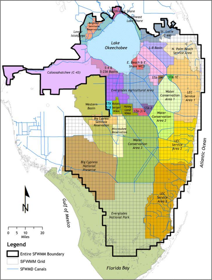 Florida Watershed Map