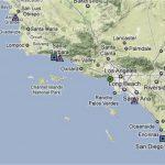 Map Of Southern California California River Map Southern California   Map Of Southern California Coastline