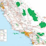 Map Of Southern California   Southern California Map Printable