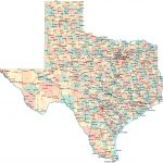 Map Of Texas Cities And Counties • Mapsof   Google Maps Texas Counties