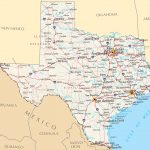 Map Of Texas Cities And Roads And Travel Information | Download Free   Texas Road Map With Cities And Towns