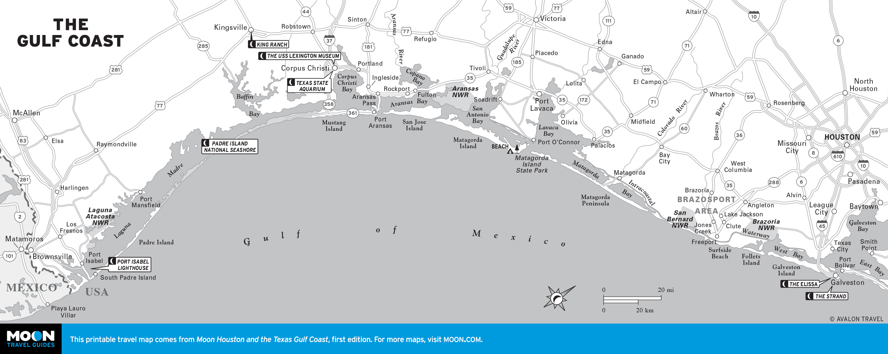 Map Of Texas Gulf Coast Beaches | Business Ideas 2013 - Map Of Texas Coast