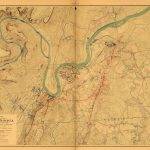 Map Of The Battlefields Of Chattanooga, Battle Of Lookout Mountain   Printable Map Of Chattanooga