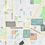 Map Of The Gainesville Florida Gangs And Hoods   Map Of Gainesville Florida Area