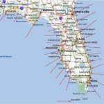 Map Of The Gulf Coast Of Florida And Travel Information | Download   Map Of Florida Showing Venice Beach