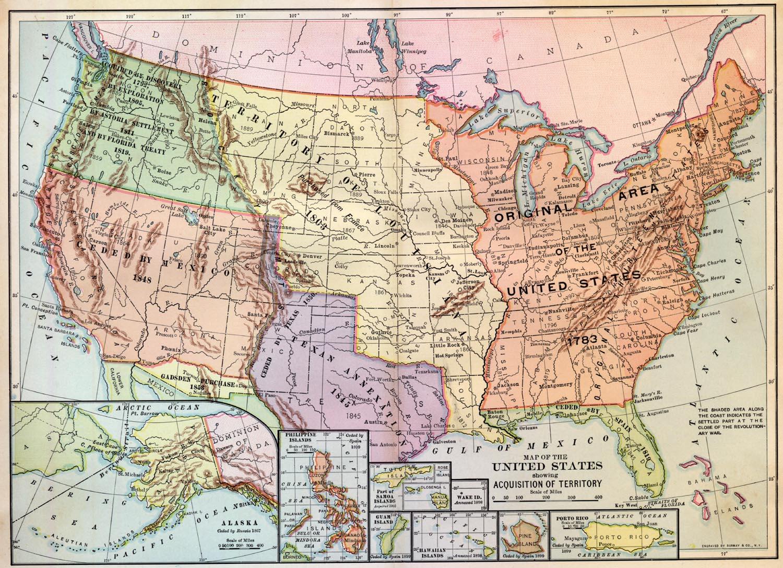 Map Of The Louisiana Purchase - Texas Louisiana Border Map