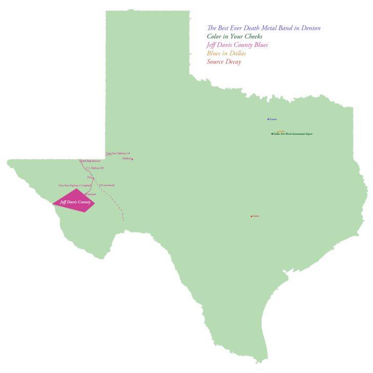 Hail Maps Texas
