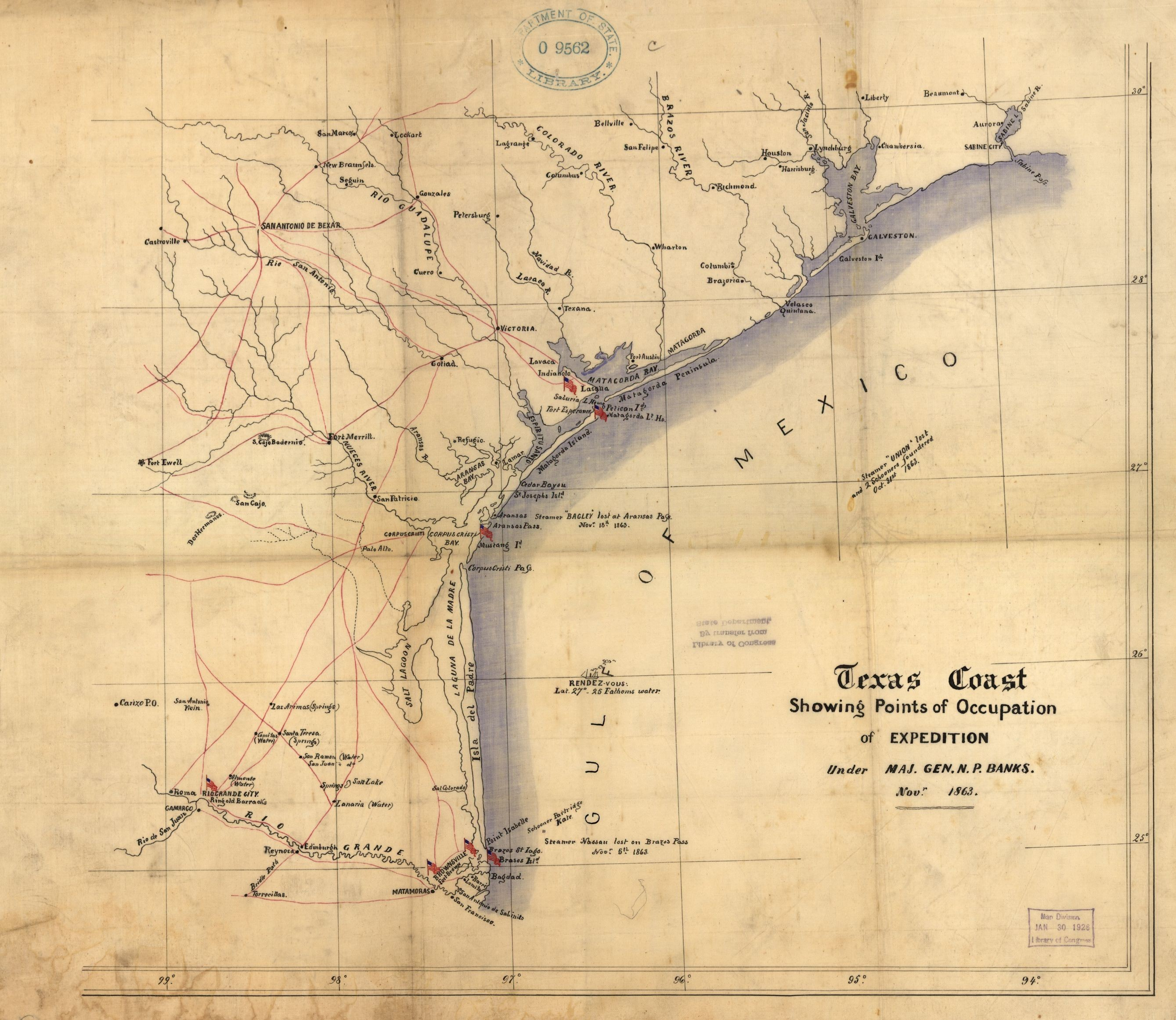 Map Of The Us In The Civil War 1865 West Large Beautiful Civil War - Civil War In Texas Map