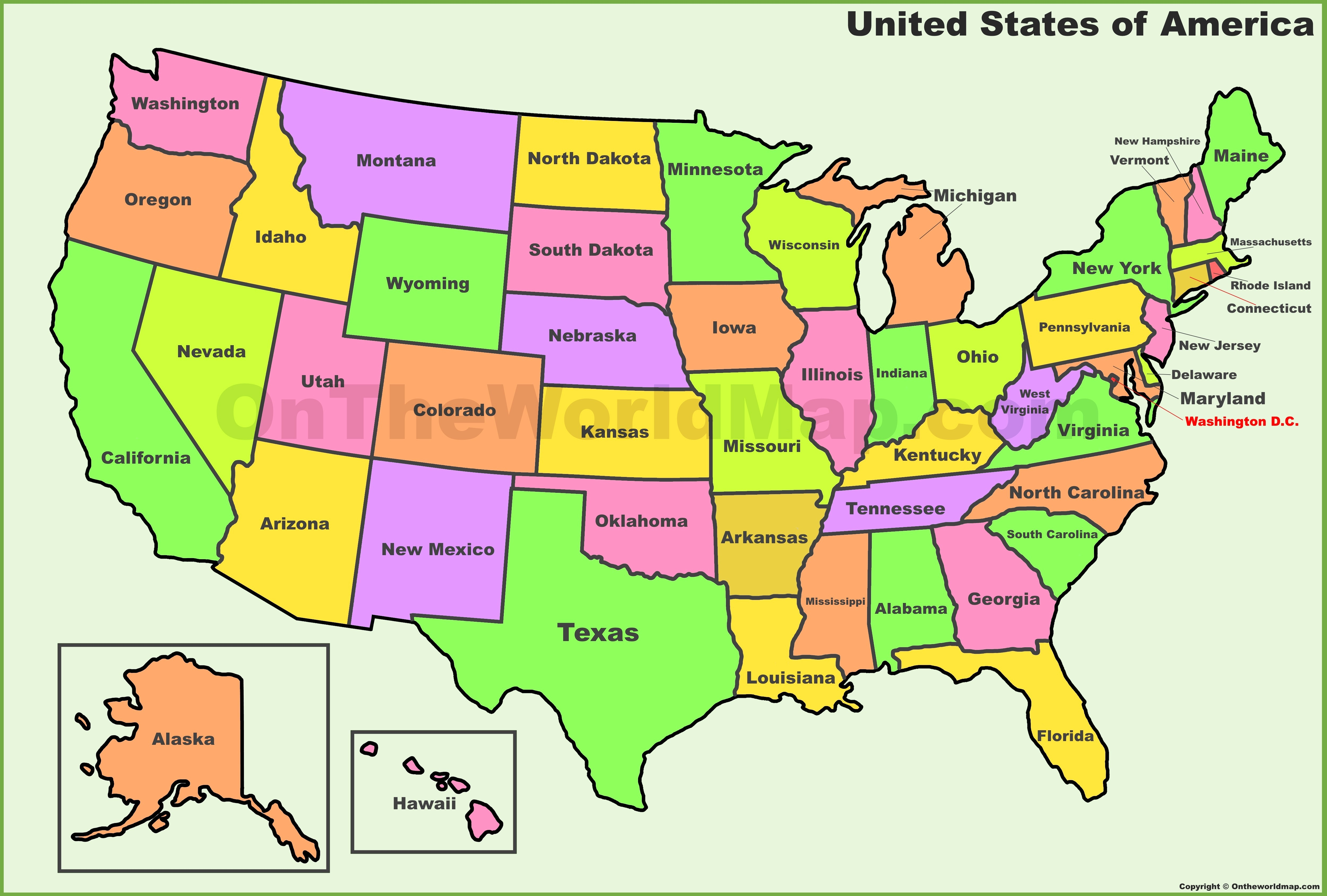 Map Of The Us With Time Zones Us Timezones Awesome Printable Us Time - Printable Time Zone Map Usa With States