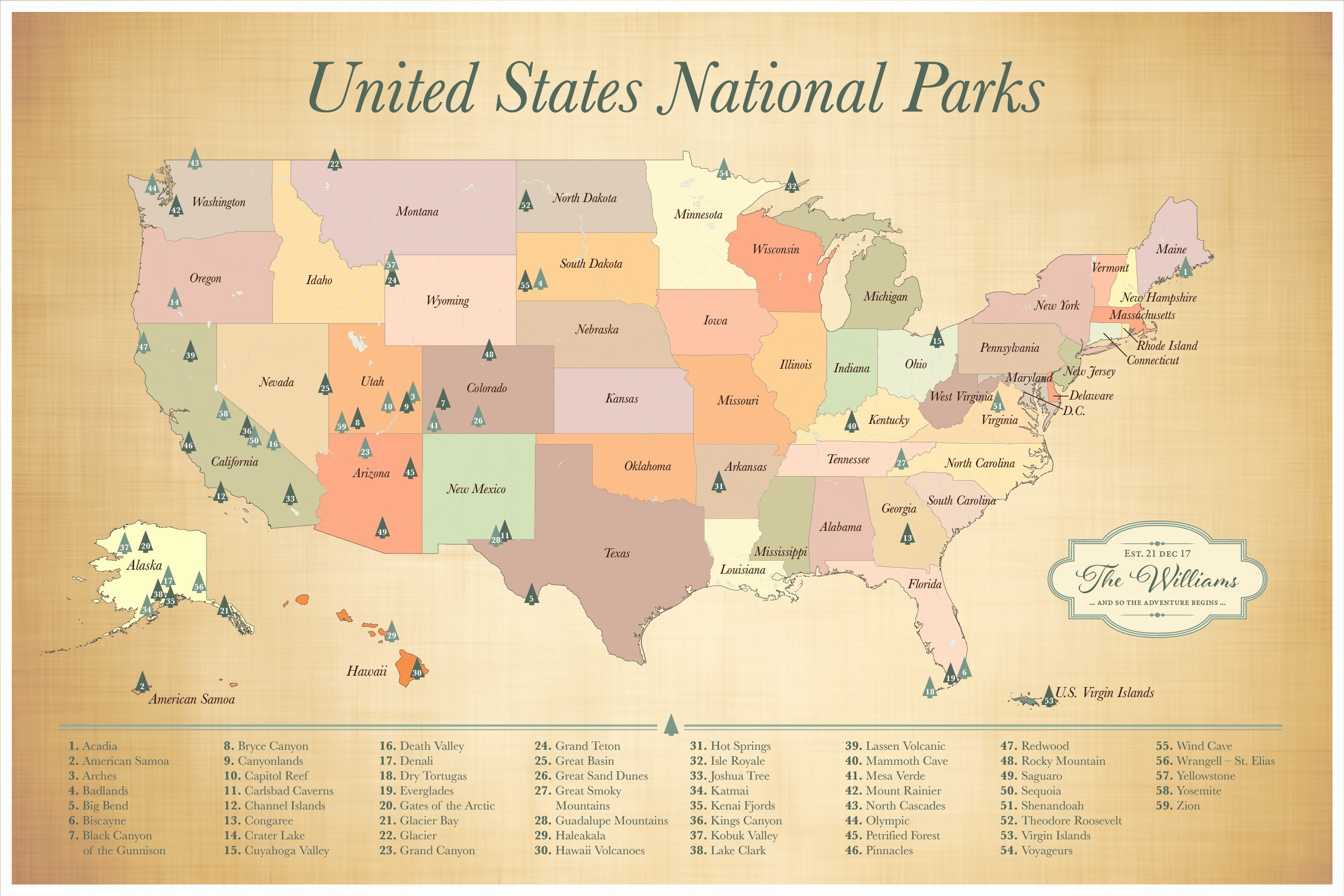 Map Of Us National Monuments National Park Map Lovely Printable Map - Printable Map Of Us National Parks
