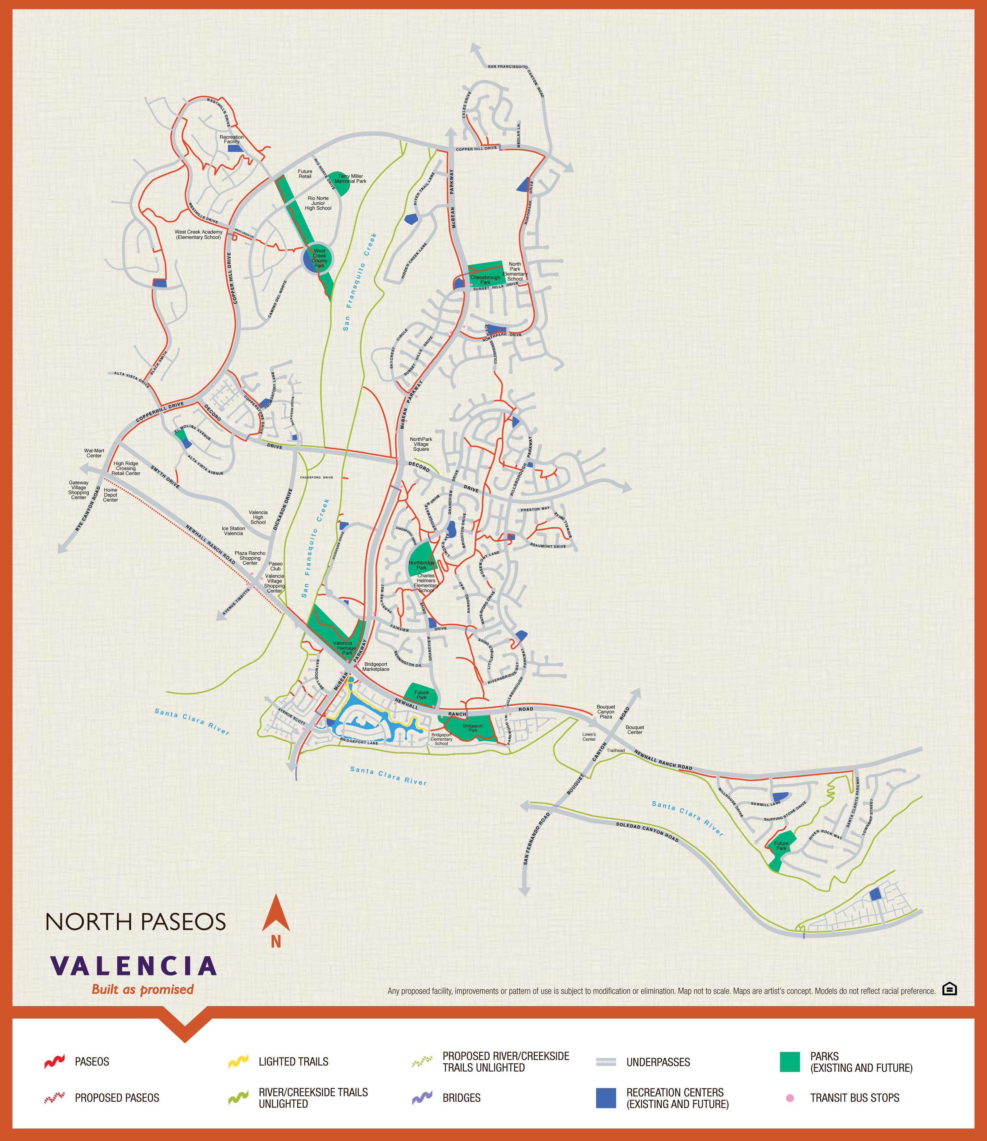 Map Of Valencia California - Klipy - Valencia California Map