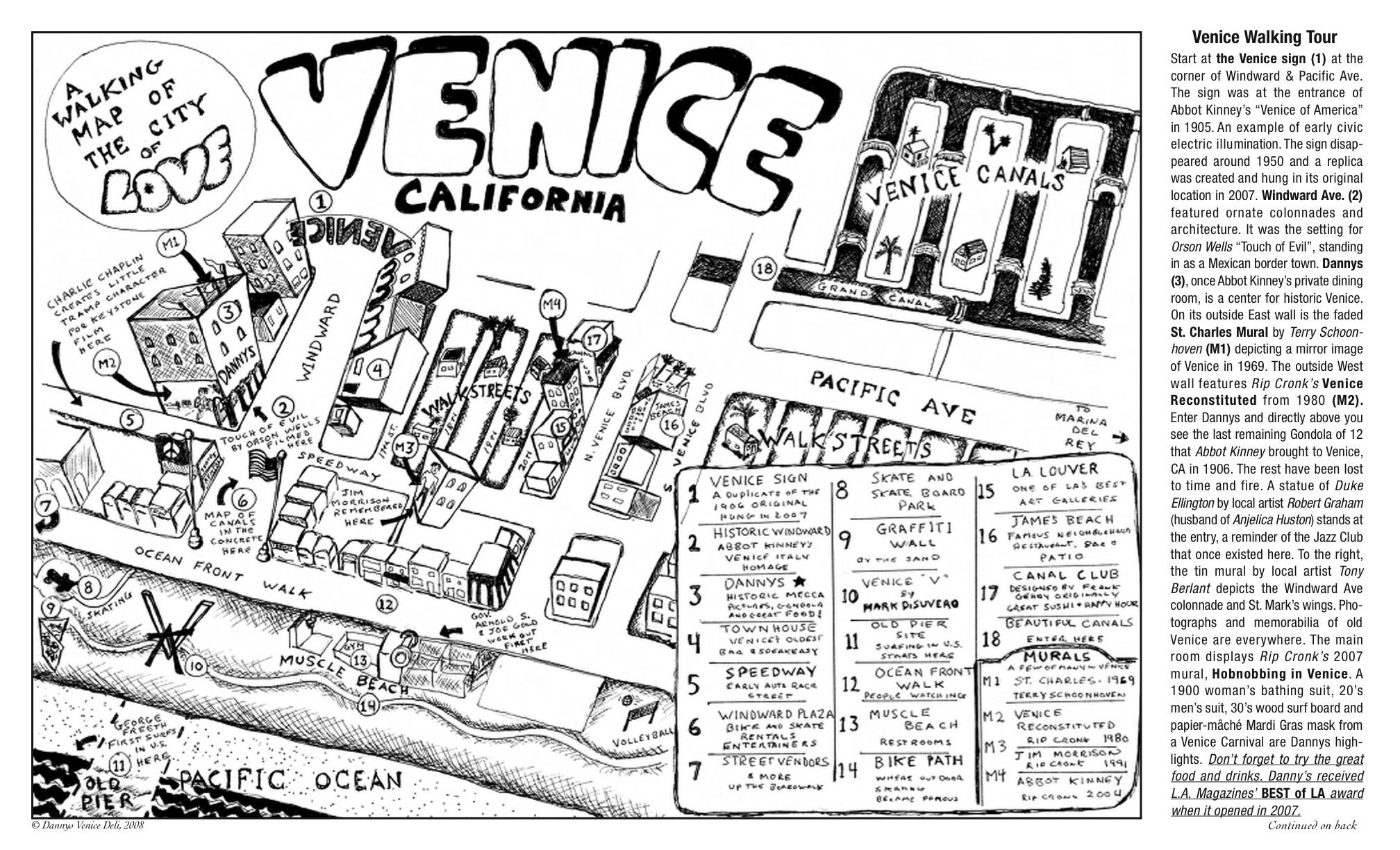 Map Of Venice Beach California - Klipy - Map Of Venice California Area