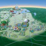 Map Of Walt Disney World Resort   Wdwinfo   Disney World Florida Hotel Map