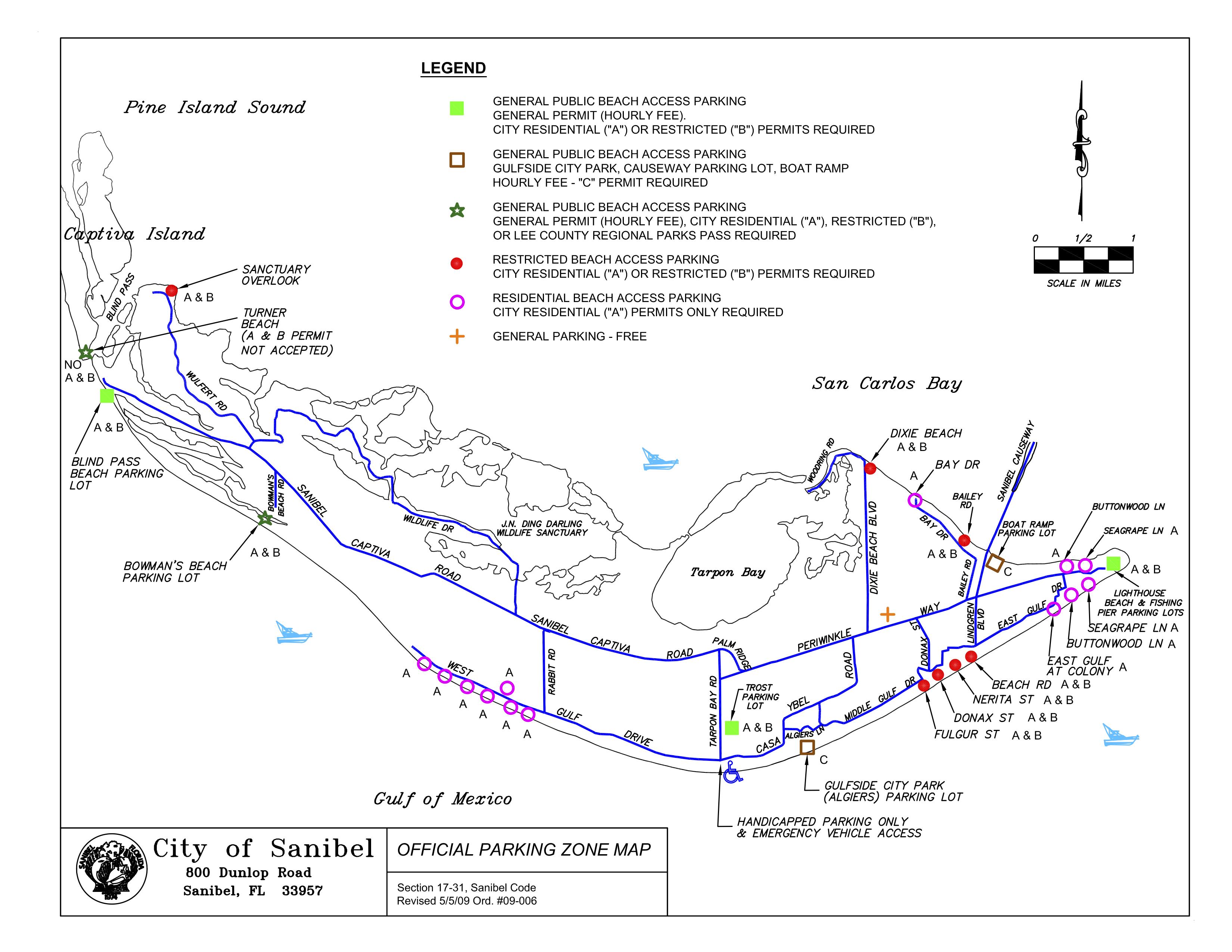 Map Parking On Sanibel | Travel | Pinterest | Sanibel Beach, Beach - Street Map Of Sanibel Island Florida