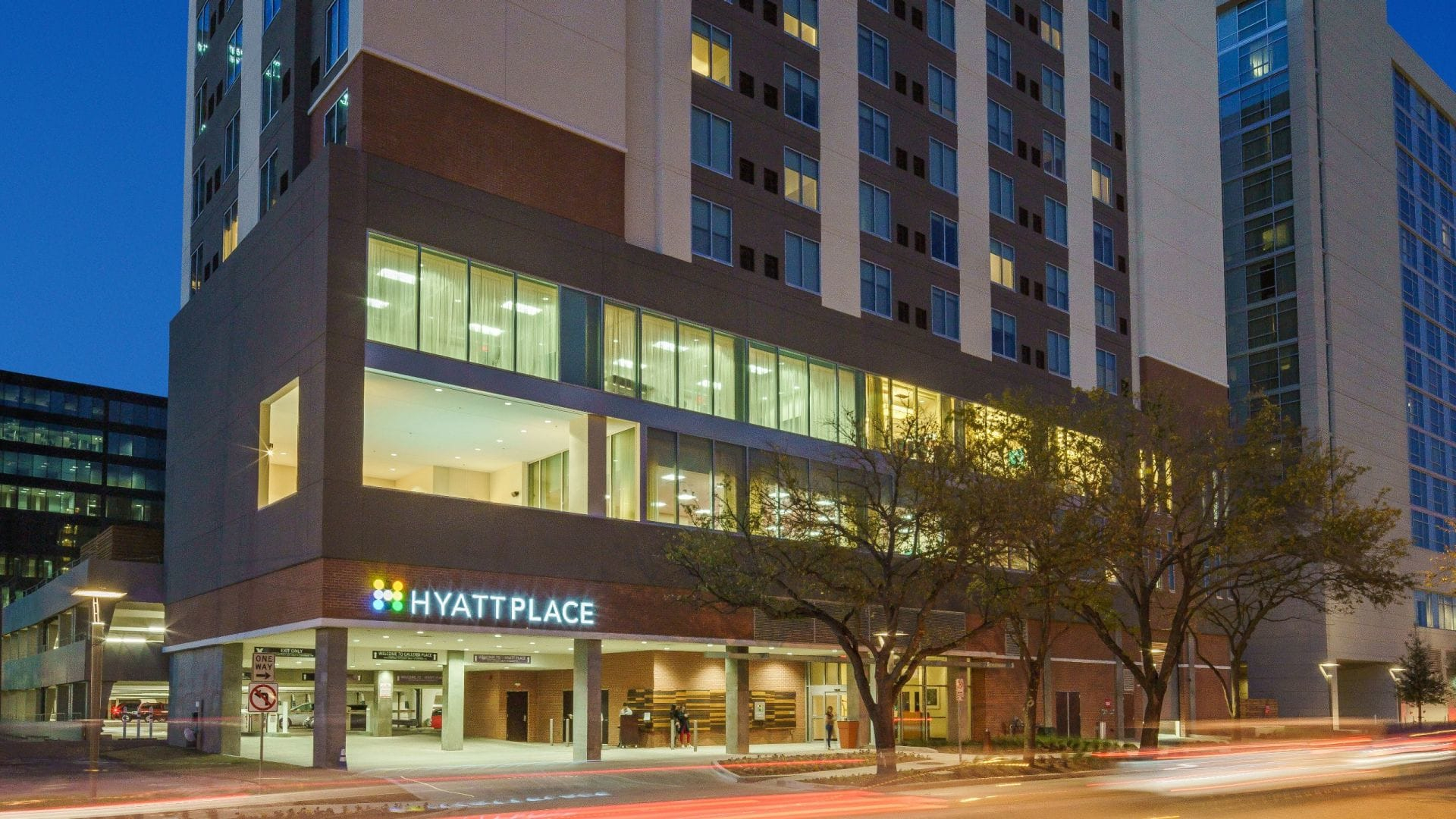 Map, Parking + Transportation | Hyatt Place Houston / Galleria - Map Of Hotels In Houston Texas