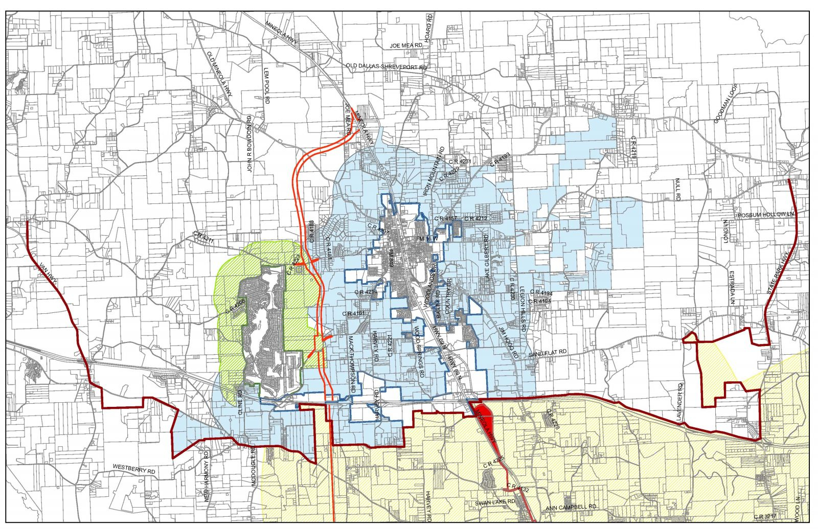 Map Room | Lindale Edc - Lindale Texas Map