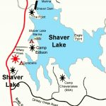 Map – Shaver Lake Trophy Trout   Shaver Lake California Map