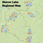 Map – Shaver Lake Visitors Bureau L Promoting California's Best Kept   Shaver Lake California Map